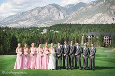 Stephanie   Tyler: Invermere Copper Point Resort Wedding. Rockies, Rockies Wedding, Bridal Party, Mountains, Mountain Wedding