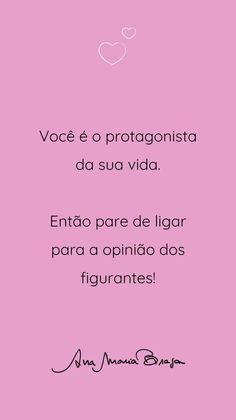 Positive Phrases, Motivational Phrases, Inspirational Quotes, Story Instagram, Instagram Blog, Mantra Diario, Motivation Sentences, Self Esteem, Quotations