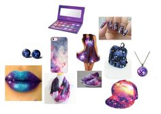 """""""Galaxy"""" by lipstick4ever ❤ liked on Polyvore featuring beauty, Missguided and BlissfulCASE"""