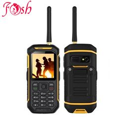 XENO X6 UHF Walkie Talkie IP68 Rugged Mobile Phone Proof D 'Water Function 2500 mah 2.4 Inch Dual SIM GSM card with torch X1 X5