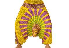 Burning man Pants Burning man costume Thai Tie by JaipurHandloom, $19.99