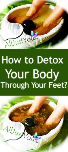 AMAZING: Did You Know That You Can CLEANSE Your Body From All Harmful TOXINS Through Your Feet?! #diy #health #detox #feet