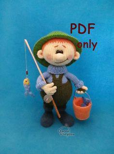 Fisherman, crochet pattern pdf