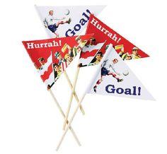 Retro Football flags