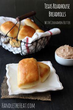 Texas Roadhouse Bread Rolls with Cinnamon Butter Copycat