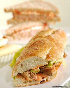 Kathleen Turner's Turkey Meatloaf Sandwich Prepare healthy turkey ...