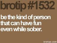 sober tip