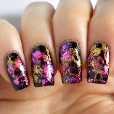 Nail foils. Will you try this new trend?