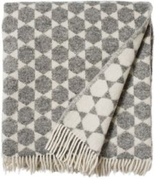 A soft large blanket made from 100% pure lambs wool.