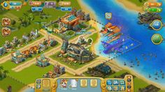 Sky Adventures is an online Facebook - based social game, simulation, city builder game, free to play on Facebook, from Game Insight.