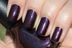 Nicole by OPI Kardashian Kolor – Smile For The Glam-era  (Purple/Vampy nail polish)