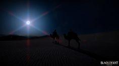 Bdo desert night camels