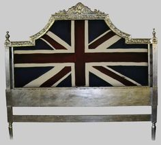 Union Jack Headboard- to die for.