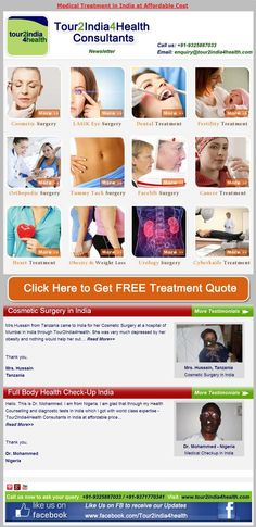 Medical Treatment in India at Affordable Cost
