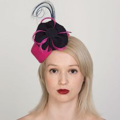 Buy designer UK made fascinators, fascinator hats and hatinators in colours to suit all outfits. How To Make Fascinators, Hair Fascinators, Pink Fascinator, Wedding Fascinators, Fascinator Hairstyles, Pill Boxes, Felt Hat, Color Swatches, Free Coloring