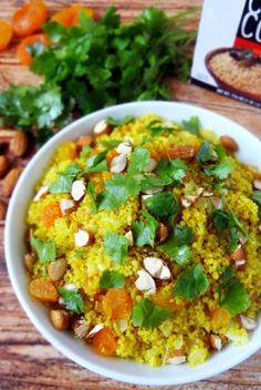 Clean Eating Moroccan Apricot Couscous