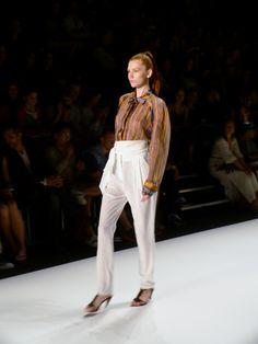 Model at ISTANBUL NEXT Spring/Summer 2013 - Mercedes Benz Fashion Week - http://olschis-world.de/  #ISTANBULNEXT #Womenswear #fashion