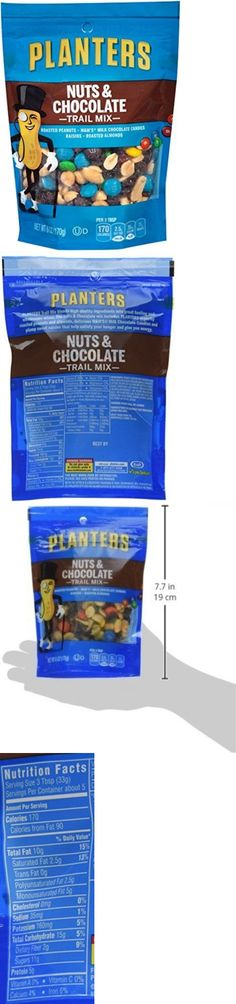 chocolate pack nuts mix planterstrail oz planter and bag trail planters nut