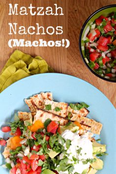 Matzah Nachos (Machos!)   Nom, nom, nom!