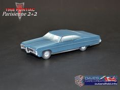 1968 Pontiac Parisienne Paper Model by Dave Winfield - Dave's Card Creations © www.cutandfold.info