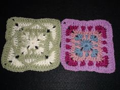 Crochet Geek : Swag and Spike Granny Squares