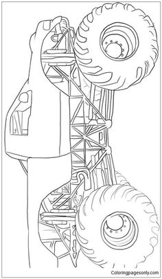 Monster Truck Speed Coloring Page The monster truck coloring page is the right choice for children. Let your kids use colors like red, black or green to color it. Add this picture to your Monster Truck collection. Monster Truck Drawing, Monster Truck Coloring Pages, Cars Coloring Pages, Coloring Apps, Coloring Pages For Kids, Coloring Sheets, Adult Coloring, Coloring Books, Kids Coloring