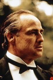 "The ""Don"" Vito Corleone. Still of Marlon Brando in The Godfather Al Pacino, Marlon Brando The Godfather, Godfather Movie, Robert Evans, Classic Hollywood, Old Hollywood, Hollywood Glamour, The Godfather, Movie Posters"