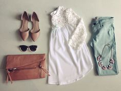 Mint & lace #swoonboutique