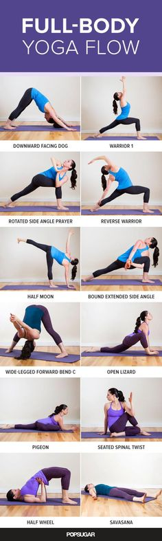 Use These Pinterest Workouts for Your Next Home-Based Routine: Full-Body Yoga Flow