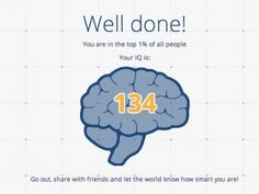 This Is How IQ Scores Work and Why That Online Test Your Friends Keep Sharing on Facebook Is Nonsense