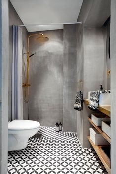 30 Amazing Small Bathroom Wall Tile Ideas To Inspire You Bathroom Tile Designs, Bathroom Design Small, Bathroom Interior Design, Small Bathrooms, Black Bathrooms, Interior Modern, Contemporary Bathrooms, Kitchen Designs, Kitchen Interior