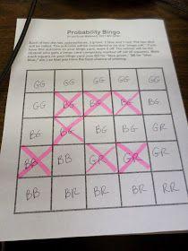 dice probability game grade 2