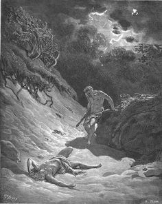 005.Cain Slays Abel - Category:Art depicting the Old Testament by Gustave Doré - Wikimedia Commons