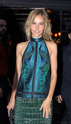 Isabel Lucas Photo - Celebs Leave Their Hotel for the Met Gala