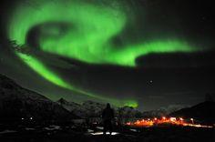 Himmel über Tromsö, Norwegen: Das Knallen werde wahrscheinlich - wie das...