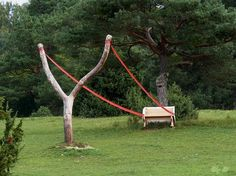 We are talking about land art installations in this article. It is only when you look at these stunning land art installations will you realize that these are immense works of art that seem to own the land on which they have been made without Land Art, Cornelia Konrads, Making A Bench, Environmental Art, Outdoor Art, Public Art, Urban Art, Installation Art, Art Installations