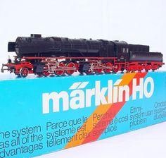 """Marklin AC HO 1:87 German Big Boy DR BR-53 """"BORSIG"""" MALLET STEAM LOCOMOTIVE MIB!   eBay"""