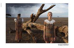 Масаи и Африка в рекламной кампании Valentino, Buro 24/7