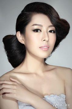 Bridal Makeup -Asian/mono lid eyes