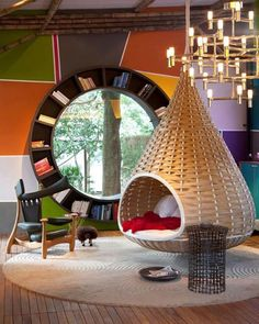 unique book shelf design ideas for  modern interior decorating
