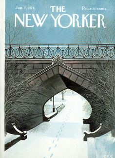 The New Yorker - Monday, January 7, 1974 - Issue # 2551 - Vol. 49 - N° 46 - Cover by : Charles E. Martin