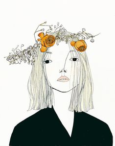 Scotland-born, Brooklyn-based Katy Smail has a portfolio full of pieces that exhibit her modern illustration chops. I especially love the way she handles hair on the ladies that grace her work as well as her tendency to show great detail in some features, while keeping others as stark as possible.