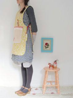 dottie angel: reversible apron/pinafore inspiration