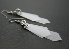 Milk jug earrings
