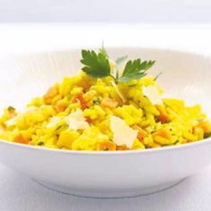 Lekker recept gevonden: Saffraanrisotto uit de oven Chorizo Risotto, Grains, Lunch, Cooking, Ethnic Recipes, Om, Seeds, Kitchen, Eat Lunch