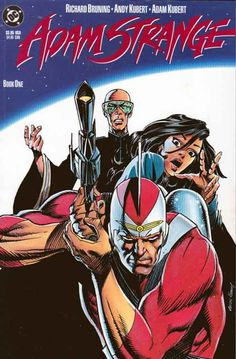 Adam Strange is a fictional superhero published by DC Comics. Created by editor Julius Schwartz with a costume designed by Murphy Anderson, ...