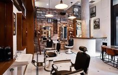Intimate and full of character The Barber Shop offers everything from a straight-blade hot-towel shave to fine alcohol and beverages. Be sure to check out our guide to Sydney's best bars at www.destinasian.com. Photo courtesy of @thisisbarbershop