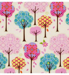 Fairy Fluff Trees on goodmama designer fabric board | Trello
