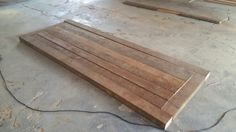 Latest project. Using reclaimed floor support beams to create an old farmhouse style table. 2.4m X 880mm...