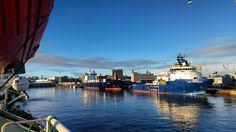Nice weather today in Aberdeen :). #aberdeen #bourbonoffshorenorway #bourbonoffshore #bourbonmonsoon #offshorelife #offshore #lifeatsea #maritime #maritime.no by stisim85